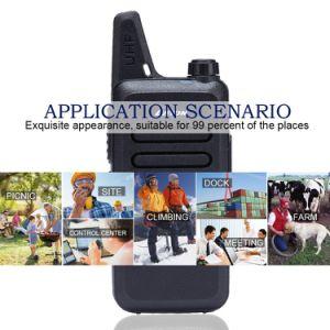 Hot Selling Two Way Radio Lt-316 UHF 400-470 MHz Mini-Handheld 5W Walkie Talkie (black) pictures & photos
