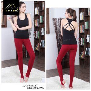 Ladies Legging Yoga Foot Pants pictures & photos