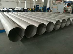 ASTM A312 20 Inch Sch40 Welded Stainless Steel Pipe. pictures & photos