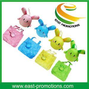 Nylon Foldable Lovely Rabbit Shaped Foldable Shopping Bag pictures & photos
