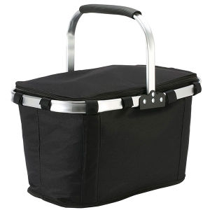 Folding Portable Basket Shopping Picnic Basket pictures & photos
