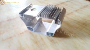 Anodized Heat Sink with Deep Processing Treatment in Aluminium Profile pictures & photos