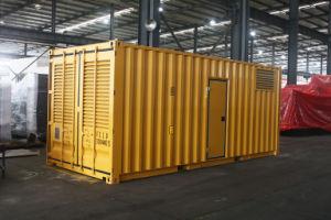 Kanpor Factory 800kVA/640kw 1000kVA/800kw Container Type Cummins Generator Set pictures & photos