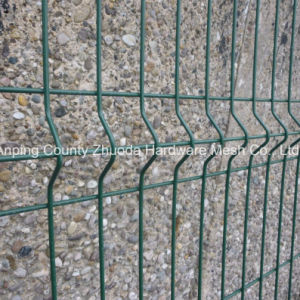 Premium Ral 6005 Height 2.0 X Width 2.5m Mesh Wire Fencing pictures & photos