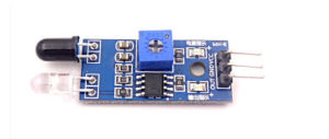 Wavelength 760nm-1100nm Lm393 IR Flame Fire Sensor Module Board Best Quality pictures & photos