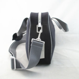 Portable Neutral Style Character Print Cotton Handbag pictures & photos