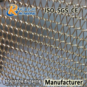 Stainless Steel Conveyor Belt 304 316 for Conveying in Food Beverage pictures & photos
