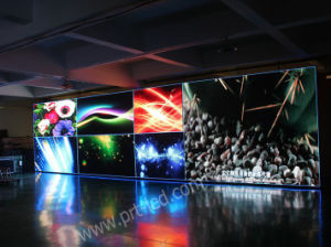 Cheap Cost Indoor P7.62 Full Color LED Digital Display with Slim Panels pictures & photos
