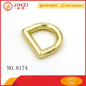 Zinc Alloy Fashion Metal D Ring with Engraved Logo pictures & photos