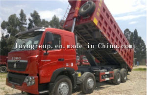 Sinotruk HOWO T7h 8X4 Dump Truck for 50 Tons pictures & photos
