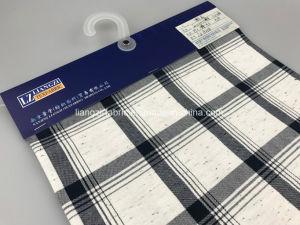Cotton Colour Fibre Circle Yarn Fabric Check-Lz8258 pictures & photos