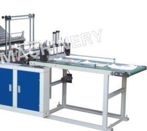 Double Layer Four Line Cold Cutting Bag Making Machine with Conveyor (SHXJ-1000FC) pictures & photos