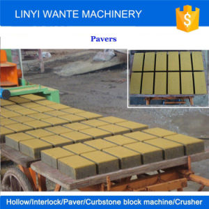 Wante Machinery Qt10-15 Fully Autoamtic Paver Block Machine, Hollow Block Making Machine Line pictures & photos