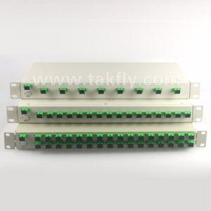 1u Rack Mount Sc 1X8/16/32 Rack Mount PLC Splitter pictures & photos