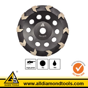 Diamond Arrow Cup Grinding Wheel pictures & photos