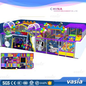 High Quality Indoor Type Plastic Material Playground Factory Price pictures & photos