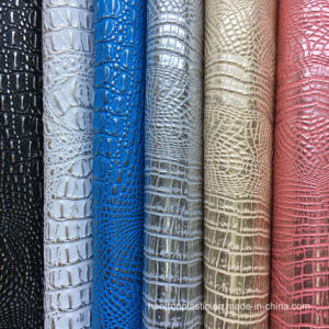 Hot Sale PVC Crocodile Faux Leather for Handbag pictures & photos