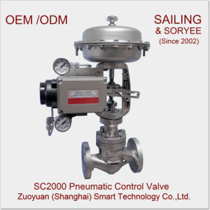 "1-1/2"" Sc2000 Pneumatic Globe or Cage Control Valve pictures & photos"