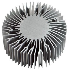 7W Round Nobbing LED Heat Sink HS1007 pictures & photos