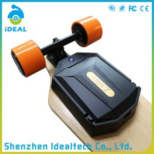 Smart 4 Wheels 2*1100W 35km/H Brushless Motor Longboard Electric Skateboard pictures & photos