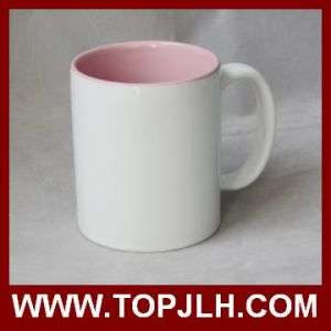 Hot Selling Blank Coated 11oz Inner Colorful Mug pictures & photos