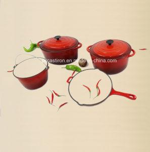 4PCS Cast Iron Cookware Set pictures & photos