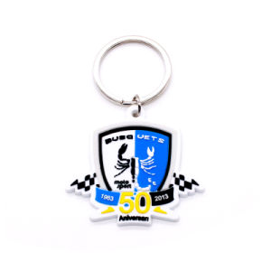 Customized Fashion Rubber Key Chain pictures & photos