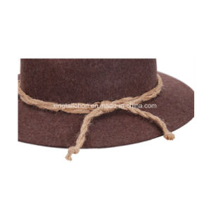 Top Quality Wool Felt Germany Mountain Hat Cowboy Hat for Man pictures & photos