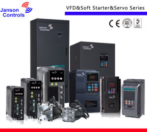 Factory 4kw 220V Single Phase Variable Frequency Drive, VFD pictures & photos