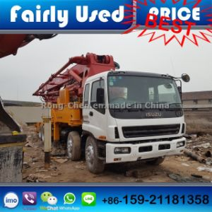 Used Right Hand Drive Sany Concrete Pumps 42 Meters