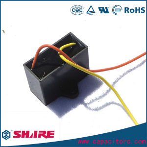 Wiring Fan Capacitor Cbb61 with Pins Capacitor or Wires Capacitor pictures & photos