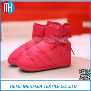 Customized Color Down Shoes with Down Filled Boots pictures & photos