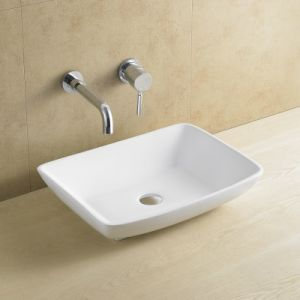 Popular Square Porcelain Wash Basin 8079 pictures & photos