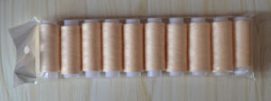 100% Spun Polyester Sewing Thread 40/2 80m pictures & photos