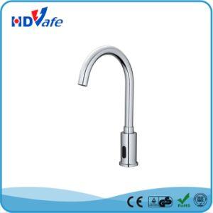 Geeo Goose-Neck Automatic Sensor Faucet Kitchen Basin Sensor Tap HD510 pictures & photos