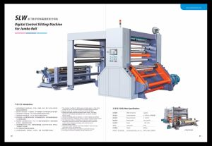 Slw Digital Control Slitting Machine for Paper Roll pictures & photos