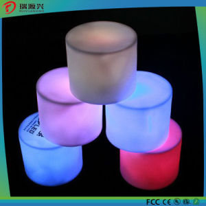 Newest Colorful Flameless LED Candle Lights with Battery pictures & photos
