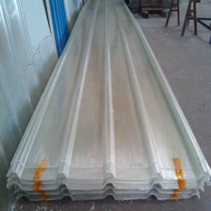 FRP Sheet FRP Sheets Flat Plastic Floor Fiberglass Corrugated Sheet for Industrial Workshop pictures & photos