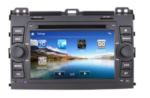 Micro Wince 6.0 Quad Core 800*480 Car DVD Multimedia for 2002-2009 Toyota Prado Support 3G TV RDS Ipos