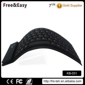 Waterproof Foldable Mini Silicone Wireless 3.0 Bluetooth Keyboard pictures & photos