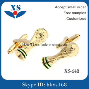 Gold Plating Mens Custom Cufflinks pictures & photos