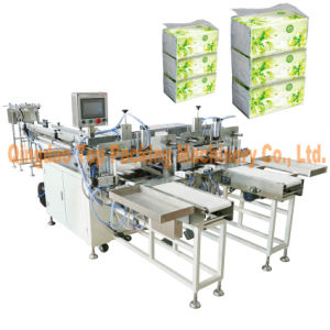 Soft Tissue Bundling Facial Tissue Paper Packing Machine pictures & photos