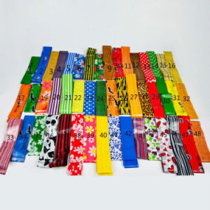 Broom Hanld Flower PVC Pattern Wood Sticks pictures & photos