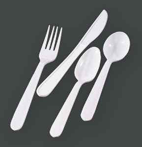Heavy Weight PP Cutlery Set Fork pictures & photos