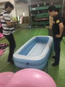 Inflatable Rectangle Child Pool for Shower pictures & photos
