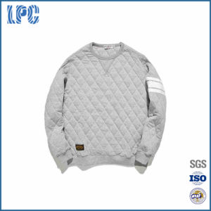 Popular Custom Made Fashion Cotton Round Neck Man′s Sweatshirt pictures & photos