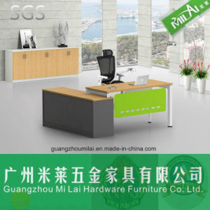 High Quality Home&Office Furniture Computer Table with Melamine Desk Tops pictures & photos