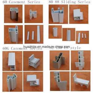 Plastic Window Frame PVC Profiles for Window and Door
