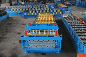 Cheap Roll Forming Machine Iron Sheet Making Machine pictures & photos
