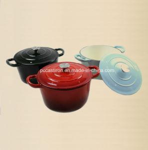 3PCS Enamel Cast Iron Cookware Set FDA Approved Factory pictures & photos